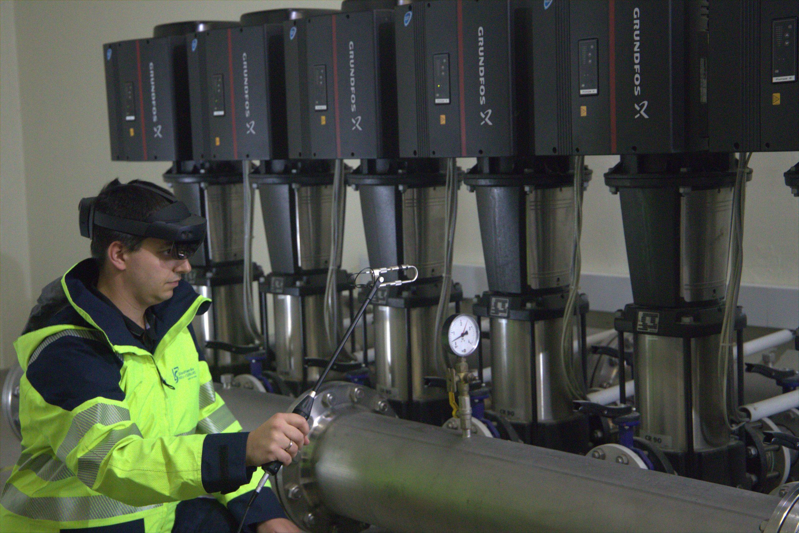Messung der technischen Akustik ohne Sound HUB I acoustic measurements without Sound HUB